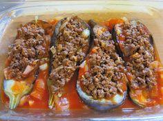 The Iraqi Family Cookbook: Stuffed Eggplant (Sheikh Mahshi)شيخ محشي والباذنجان