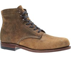 Original 1000 Mile Boot - Rough Out, Waxy Brown