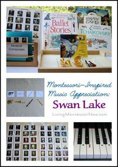 Montessori-inspired ideas for introducing Swan Lake to a number of ages. Hands-on activities and YouTube videos for home or school.