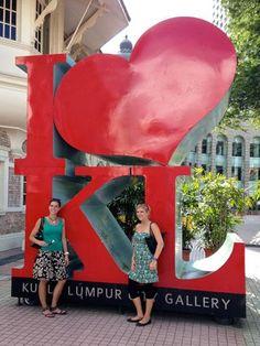 クアランプールの記念撮影に。アイラブKL。クアランプール 旅行・観光のおすすめスポット!