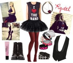 """Rydel Lynch"" by iloveyoutothemoonandback ❤ liked on Polyvore. Idk who that person is but...cute outfit"
