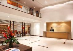 Contemporary Hotel Lobby | Hotel Estelar El Cable Manizales (Manizales, Colombia) - Booked.net