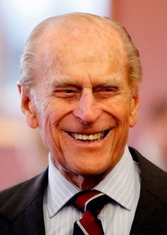 Prince Philip, Duke of Edinburgh during a visit to RAF Lossiemouth on his 67th wedding anniversary on 20.11.2014 in Lossiemouth, Scotland