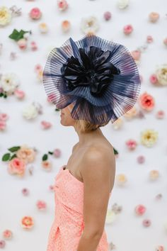 Kentucky Derby Outfit Inspiration - What to Wear to Kentucky Derby - Headcandi Fascinator - Navy Derby Hat