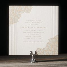 Rose by Ellie Snow for Bella Figura - I like this combo of flowers and geometric and sans serif type