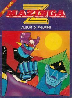 Mazinga Z, 1980, FIMER, Milano; album per la raccolta di 336 figurine