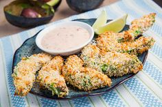 Make these Avocado Fries at your next BBQ.