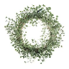 Give the illusion of nature with this LED Eucalyptus Wreath from Gisela Graham. The wreath features small LED lights for a charming finish, creating an illuminated environment during darker evenings.