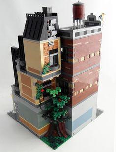 lego store mocs | Lego MOC - Terrace Apartment