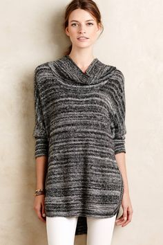 Spacedye Cowl Tunic - anthropologie.com