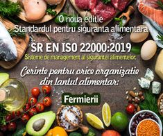 Standardul ISO 22000 de siguranta alimentara pentru fermieri, producatori de furaje, culegatorii de plante salbatice, vanatorii, pescarii, producatorii de ingrediente si organizatiile care furnizeaza servicii alimentare. Catering, Vegetables, Food, Plant, Catering Business, Gastronomia, Essen, Vegetable Recipes, Meals
