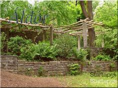 Faanyag pergola építéséhez!, egyéb otthon, kert, építkezés - Startapro.hu Pergola, Garden Bridge, Arch, Fa, Outdoor Structures, Longbow, Outdoor Pergola, Wedding Arches, Bow