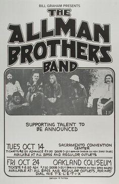 Allman Brothers Typography