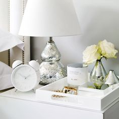 Buy Home Accessories > Kitchen Accessories > Nesting Laquer Trays from The White. Buy Home Accessories > Kitchen Accessories > Nesting Laquer Trays from The White Company. Home Decor Accessories, Home Accessories, Bedroom Makeover, Bedroom Accessories, Dresser Decor, Bedside Table Decor, Apartment Decor, Decor Guide, Nightstand Decor