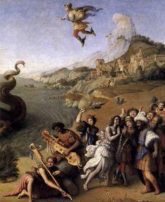 Perseus Freed aAndromeda (1510),  Piero di Cosimo