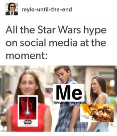 In all honesty I'm not gonna watch the Solo movie. It just won't be the same and I don't expect it to be but...I have some serious shipping to do lol