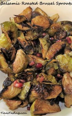 Balsamic Roasted Brussel Sprouts - Powered by @ultimaterecipe