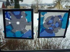 Fensterdeko Winter