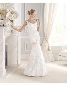 Meerjungfrau-Linie/Mermaid-Stil Elegant & Luxuriös Frühling Brautkleider 2015