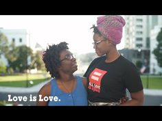 Marriage Equality: A Story | Get to know Tori and Shanté, and hear their inspirational story of love. We wish them heaping scoops of happiness!