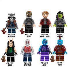 16 PZ Avengers Infinity War Building Blocks 2018 Natale Giocattolo Hero Marvel Fit LEGO