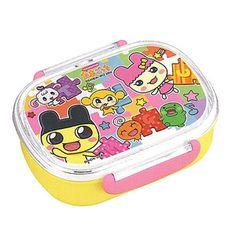 Tamagotchi Bento Box - たまごっちのお弁当グッズ  たまごっち ランチボックス 360ml