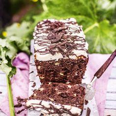 Raparperi-suklaakakku | Maku No Bake Cake, Baking, Sweet, Desserts, Recipes, Food, Drinks, Kite, Tarts