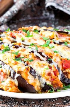 Low FODMAP Recipe and Gluten Free Recipe – Baked eggplant — www.c… - Top Trends Fodmap Recipes, Gf Recipes, Gluten Free Recipes, Vegetarian Recipes, Cooking Recipes, Fodmap Foods, Vegan Meals, Salad Recipes, Eggplant Pizza Recipes
