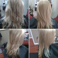 Brazilian Blowout on one of our clients!