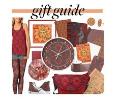 """""""Gifts in warm colors"""" by clipso-callipso ❤ liked on Polyvore featuring WALL"""