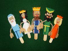 Purim Puppets by CreativeStories4U on Etsy, $20.00