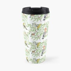 Buy Birds, Travel Mug, The Unit, Stainless Steel, Canning, Mugs, Tableware, Prints, Design