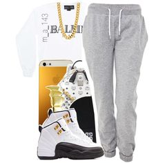 ballin paris x taxis 12s, created by mindlesslyamazing-143 on Polyvore