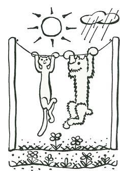 pohádka: O pejskovi a kočičce, jak si myli podlahu