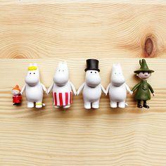 Image of Moomin Medium Figurines *NEW*