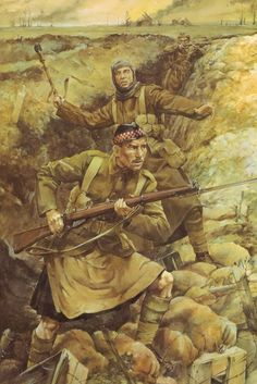 Argyle and Sutherland Highlanders Winter 1914-15