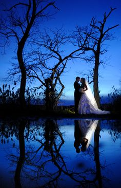Beautiful Dusk/Night time reflection shot