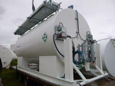 Fleet tank with Fillrite meter ready to ship. Fabricated via AGI Envirotank Ltd.