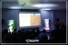Evento Syngenta apresentação da semente Activa. local:  Auditório da Cocamar Londrina. Locação de telão, projetor e iluminação.