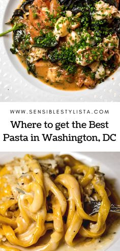 Looking for good eats in the DC area?  Click to see why you need to check out Sfoglina on Sensible Stylista's latest food post.  It's an absolute must for those of you who love indulging in a hearty pasta or 5.  #pasta #dcfood #dcrestaurant #michelinguide #italianfood #cacioepepe #bucatini