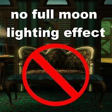 The full moon now looks just like other moon phases (the greenish glow does not appear). Sims 3 Mods, Sims Cc, Free Sims, Sims Building, Moon Phases, Full Moon, Moonlight, Lighting, Glow