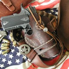 western style 1911 leather