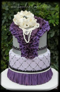 Purple Ruffles | Flickr - Photo Sharing!