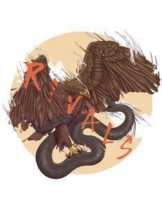 Aguila vs serpiente