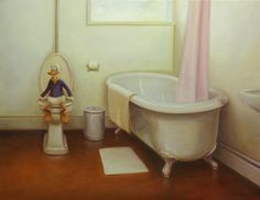 "Born Tampere, Finlandopinnot studies: Turun Taideyhdistyksen Piirustuskoulu ""Kaj Stenvall first came to the atte. Contemporary Art, Bathtub, Painting, Standing Bath, Bathtubs, Bath Tube, Painting Art, Paintings, Painted Canvas"