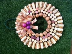wreath of corks!