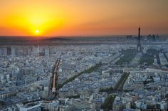 Tour Montparnasse is a stunning skyscraper less than two miles from the Eiffel Tower