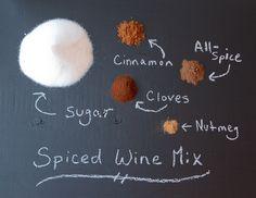 Spiced wine mix!