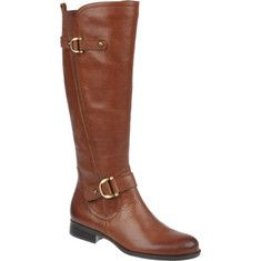 Jersey is a stylish riding-inspired boot with buckle ornamented details. It has an inside zipper, low heel, manmade outsole, and uses Naturalizers signature N5 comfort system.at Shoe Buy.com