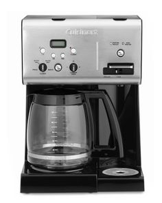 Cuisinart Coffee Plus 12-Cup Programmable Coffee Maker with Hot Water System #williamssonoma
